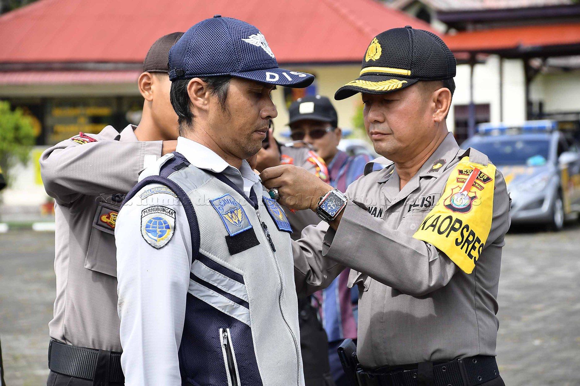 Apel Gelar Pasukan Kesiapan Pengamanan Pemilu Tahun 2019