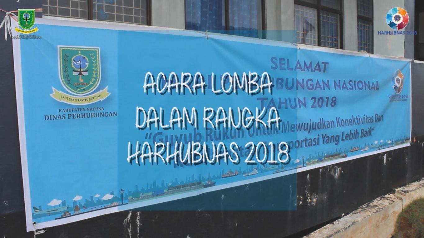 Perlombaan Dalam Rangka Harhubnas 2018